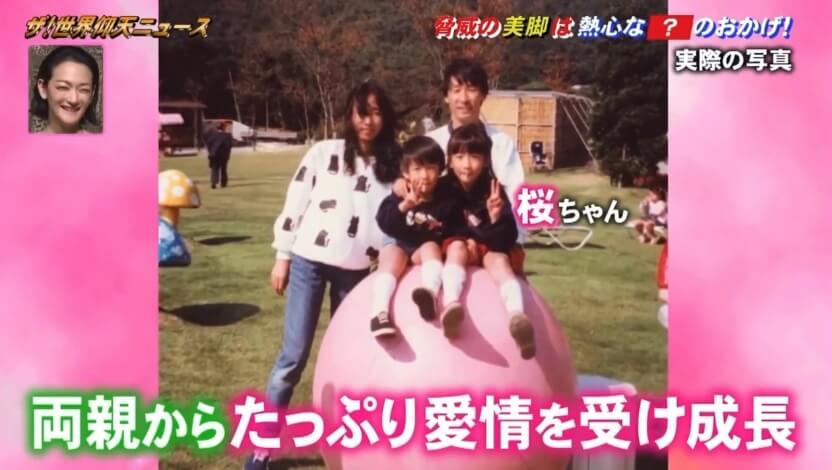 彦坂桜の両親